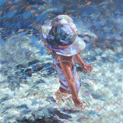 """Blue Pool"" - Ann Flynn Art"