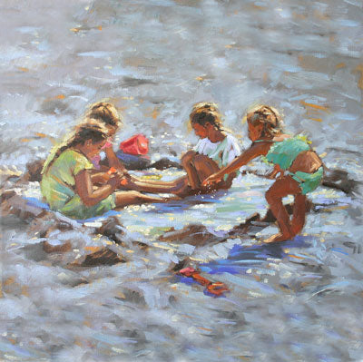 """Cool Pool"" - Ann Flynn Art"