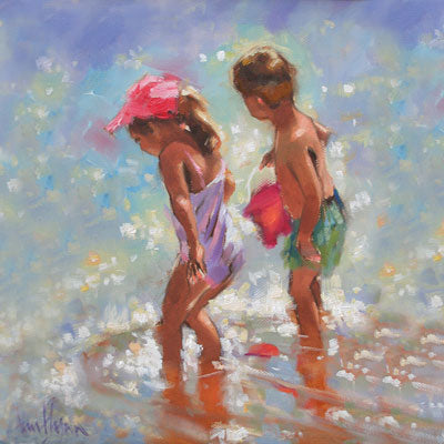 'Cooling Down' - Ann Flynn Art