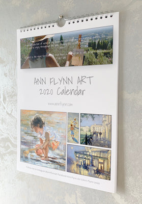 Calendar 2020 now with free shipping (was€20) Lots of high-quality images to cut out and keep - Ann Flynn Art
