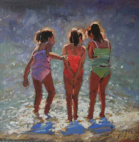 'Girl Group' - Ann Flynn Art
