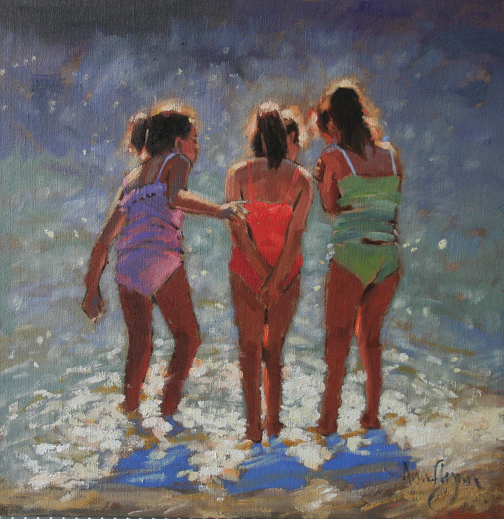 Girl group - Ann Flynn Art