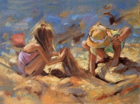 Girls At Work - Ann Flynn Art
