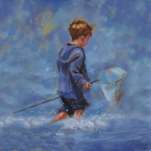 'Gone Fishing' - Ann Flynn Art