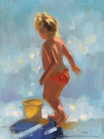 Water Baby - Ann Flynn Art