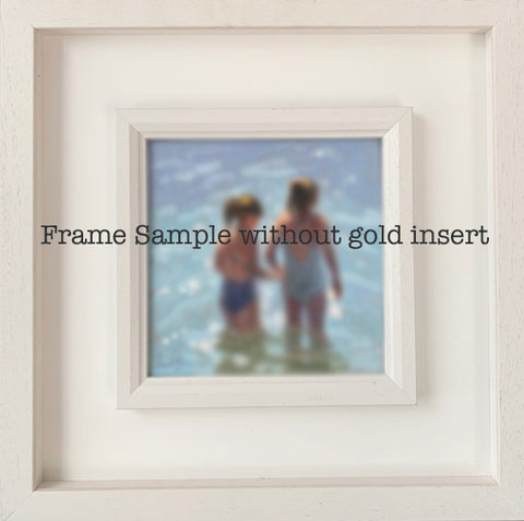 Frame only 20 x 20 cm box frame (no gold insert) - Ann Flynn Art