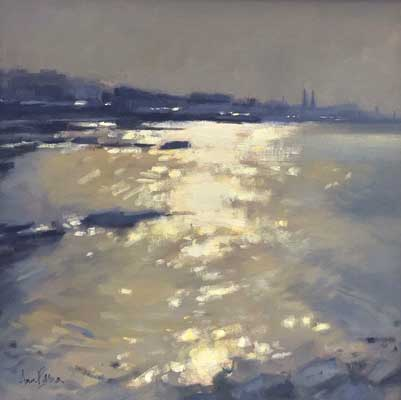 Evening light, Sandycove - Ann Flynn Art