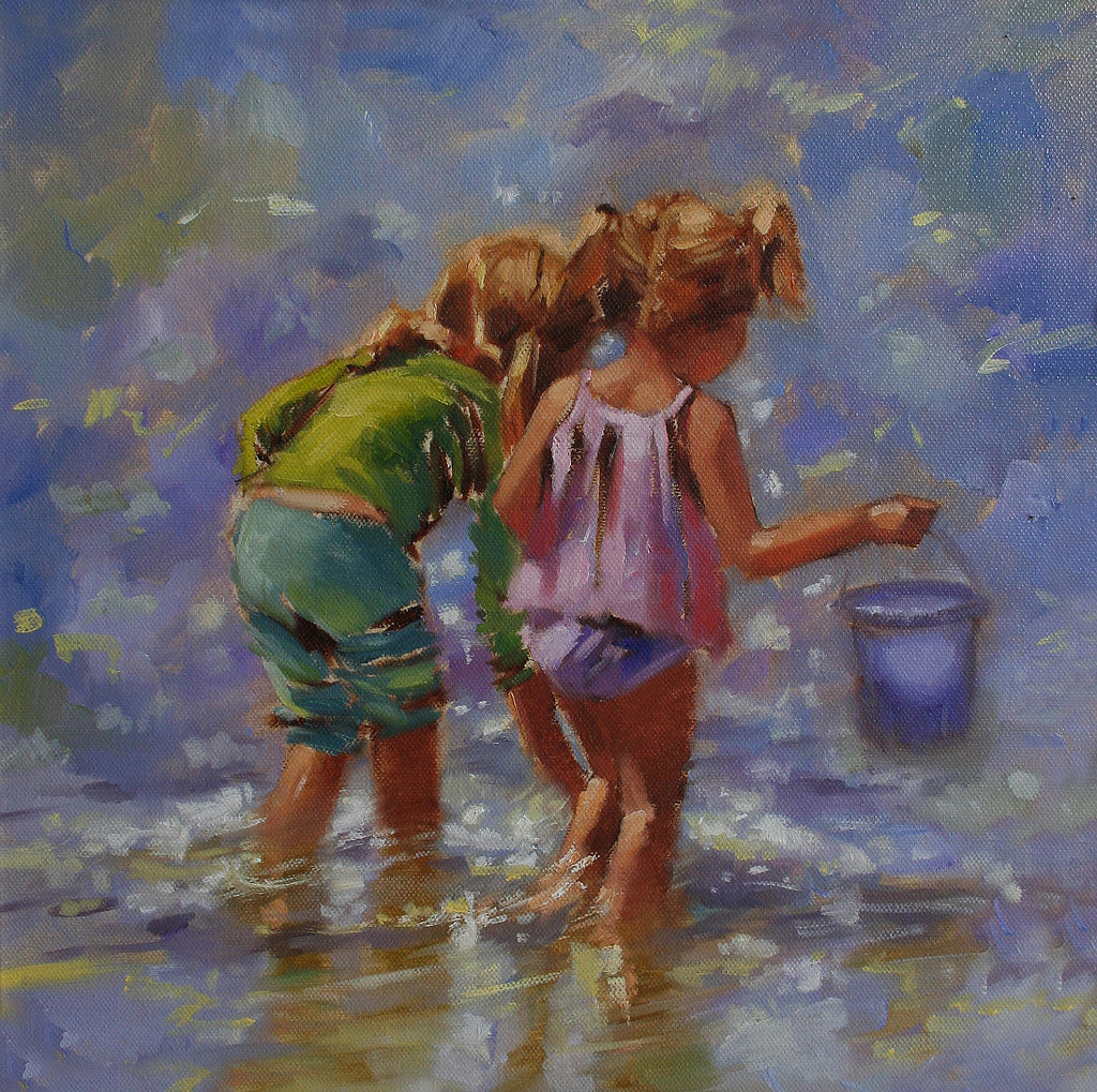 Sisters searching - Ann Flynn Art