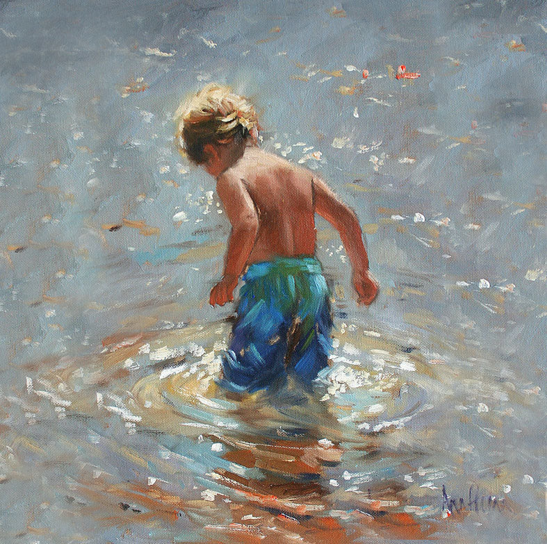 Little Boy Blue - Ann Flynn Art