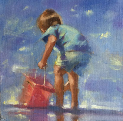 Little blue - Ann Flynn Art