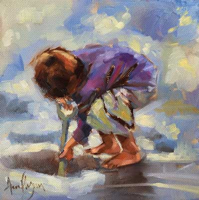 'Little Digger' - Ann Flynn Art