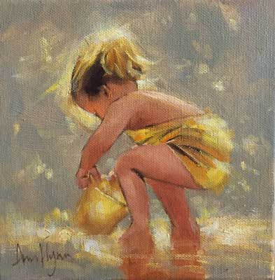 Little yellow digger - Ann Flynn Art