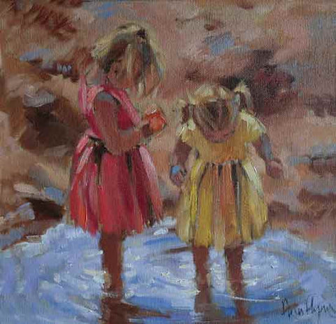 Puddle Pair - Ann Flynn Art
