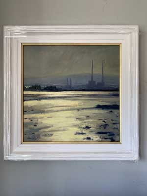 Towards Poolbeg, Clontarf - Ann Flynn Art