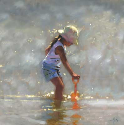 "''Water Girl"" - Ann Flynn Art"