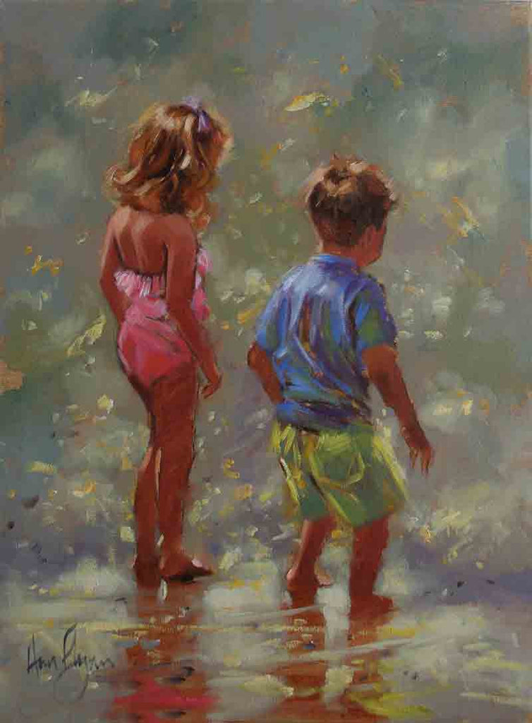 'Young Explorers' - Ann Flynn Art
