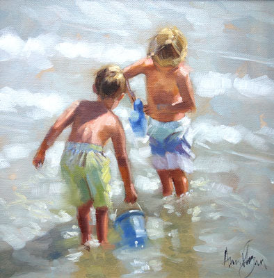 'Beach Day' - Ann Flynn Art