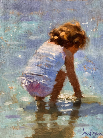 Blue pool - Ann Flynn Art