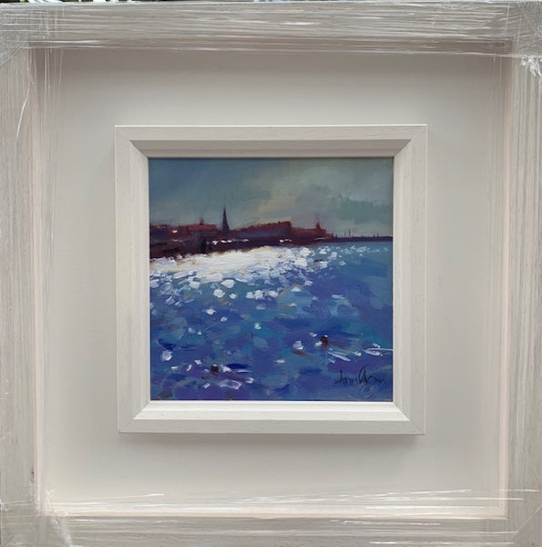 Summer afternoon Dunlaoghaire - Ann Flynn Art
