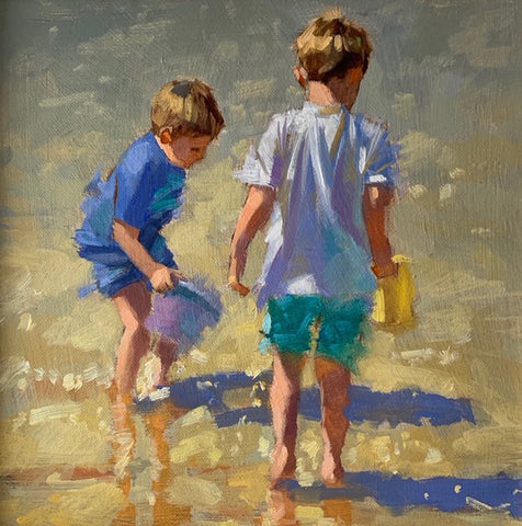 Beach works - Ann Flynn Art