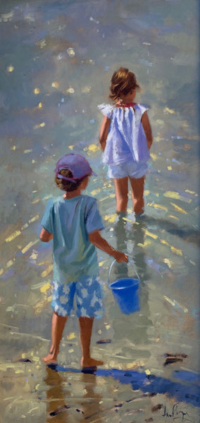 Brother and sister - Ann Flynn Art