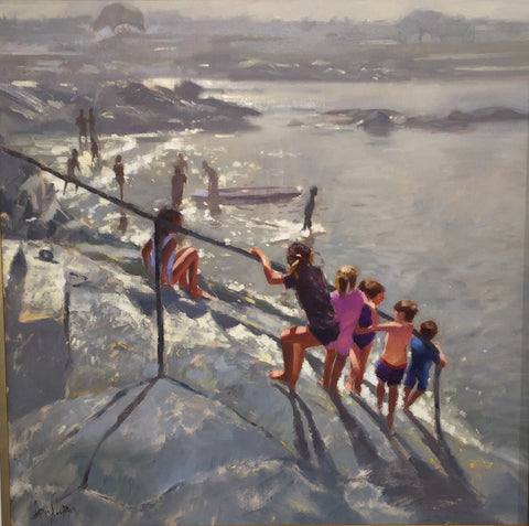 The 40 foot Sandycove - Ann Flynn Art