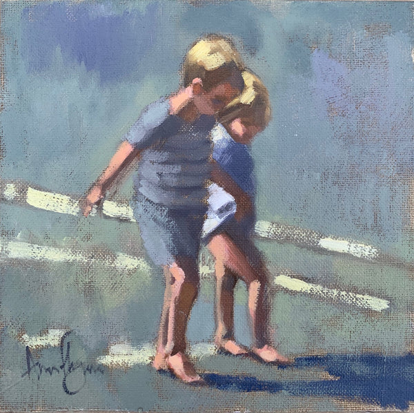 Best friends - Ann Flynn Art