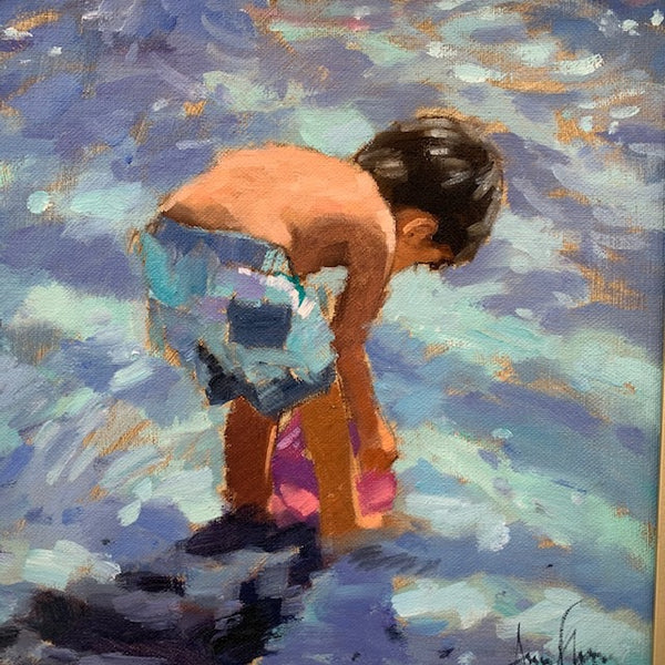Beach Boy - Ann Flynn Art