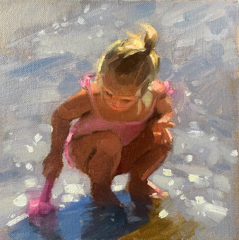 Summer girl - Ann Flynn Art