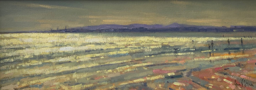 Sandymount strand, low tide - Ann Flynn Art