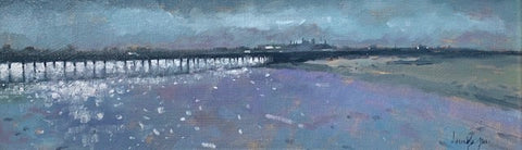 Wooden Bridge, Clontarf - Ann Flynn Art