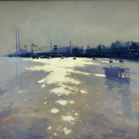 Morning, river Liffey - Ann Flynn Art