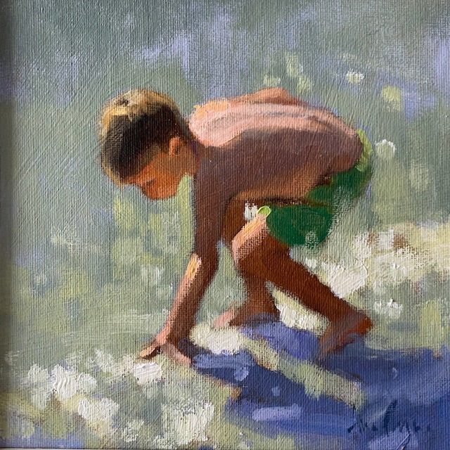 Beach day - Ann Flynn Art