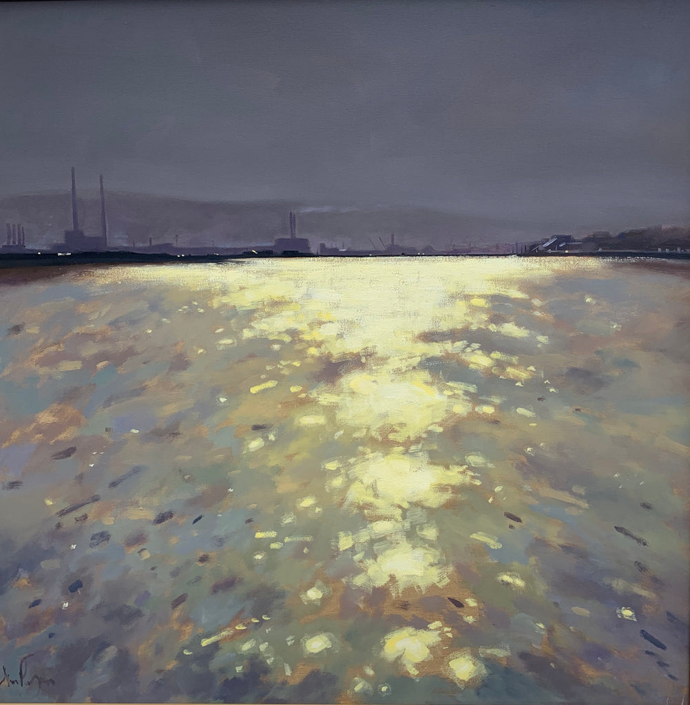 Poolbeg and Bull Island - Ann Flynn Art