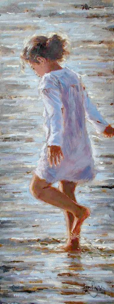 'Lilac Dress' - Ann Flynn Art