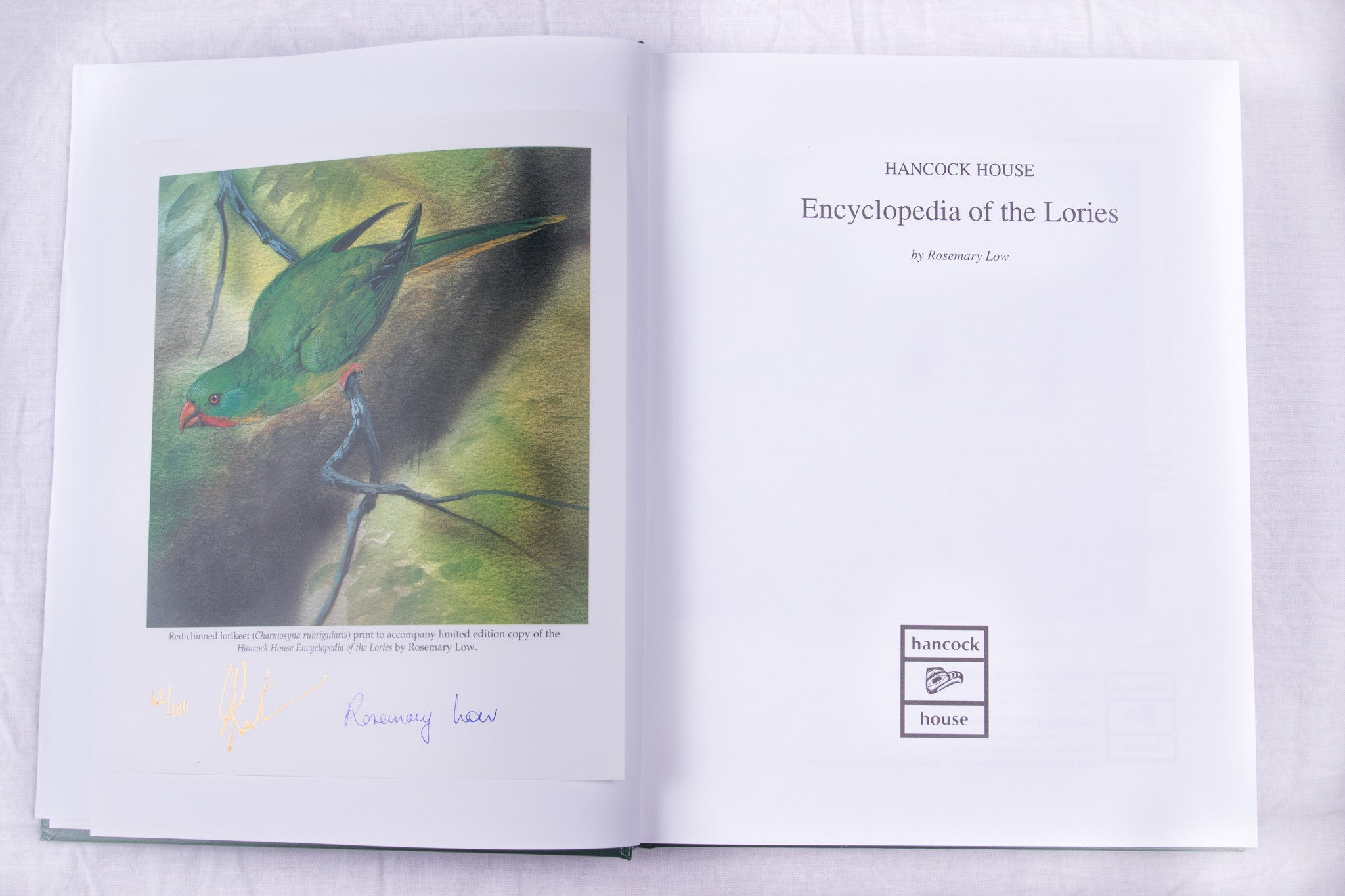 Hancock House Encyclopedia of the Lories