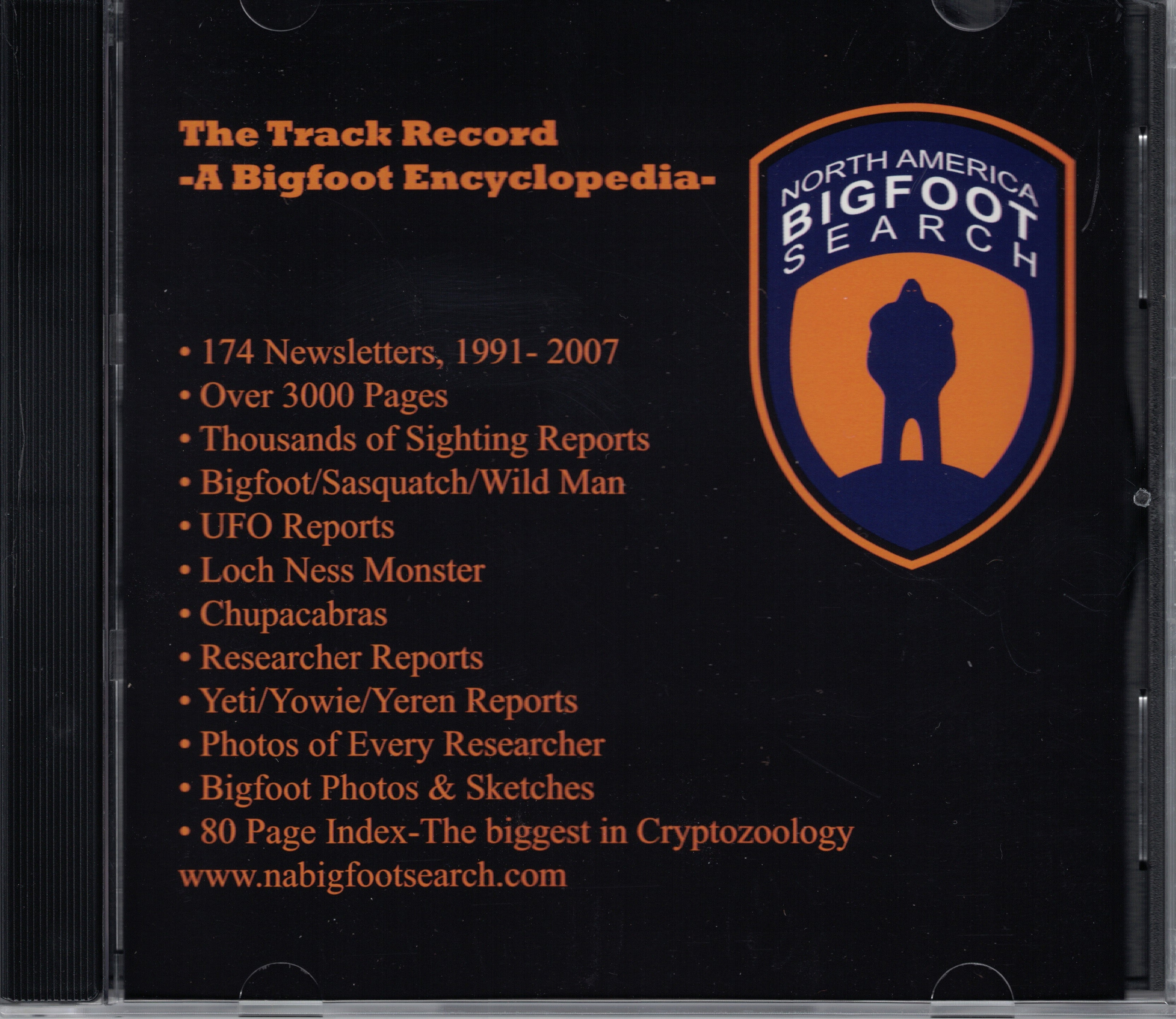 The Track Record: a bigfoot encyclopedia