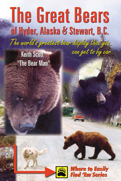Great Bears of Hyder AK and Stewart BC: the word's greatest bear display that you can get to by car