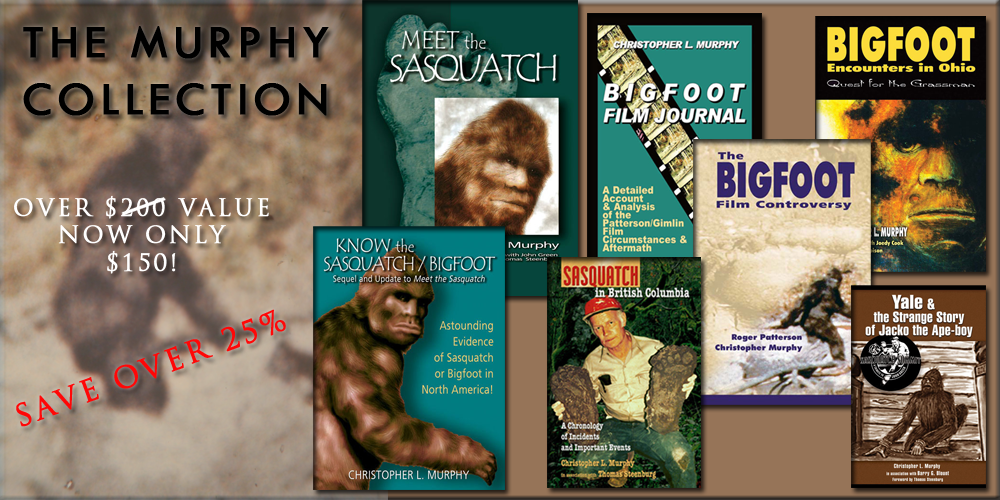 The Murphy Collection: Sasquatch/Bigfoot Library