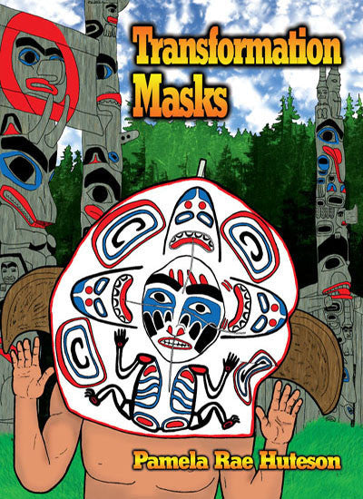 Transformation Masks - Coloring Book
