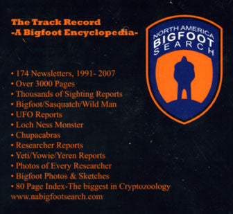 The Track Record: a bigfoot encyclopedia (CD)