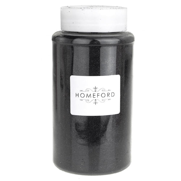 Fine Glitter Bottle, 1-Pound BULK, Black