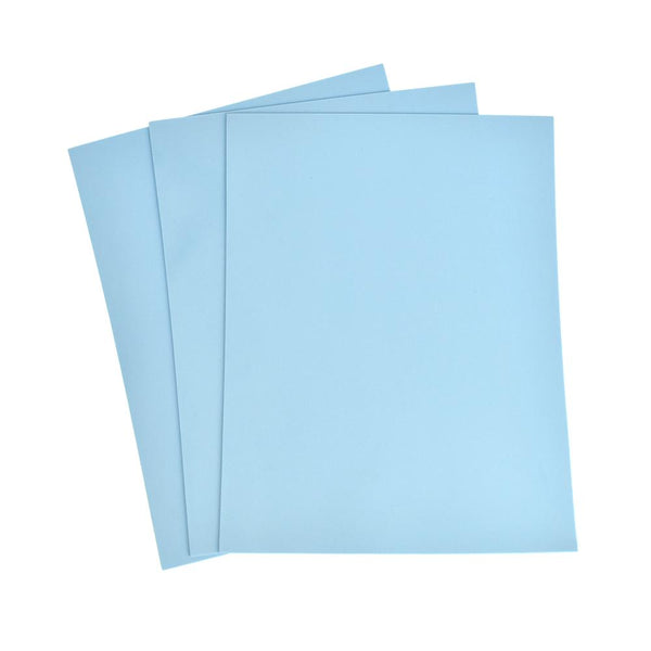 Plain EVA Foam Sheet, 9-Inch x 12-Inch, 3-Piece, Blue