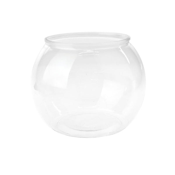 Round Plastic Favor Bowl, Clear, 8-1/2-Inch