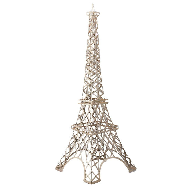Large Metal Paris France Eiffel Tower Stand, 59-Inch, Gold