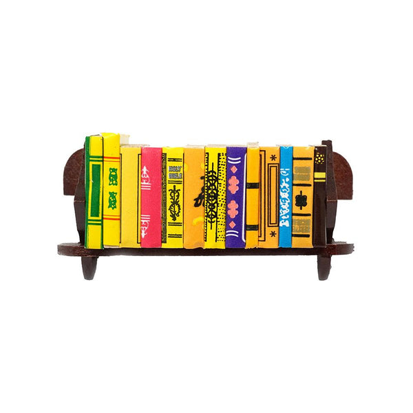 Miniature Book Collection with Rack, 3-1/16-Inch