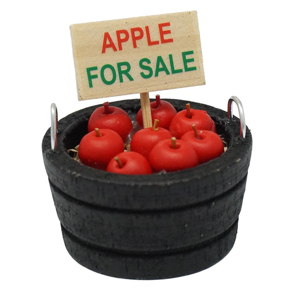 Miniature Apples For Sale Bucket, 1-5/8-Inch