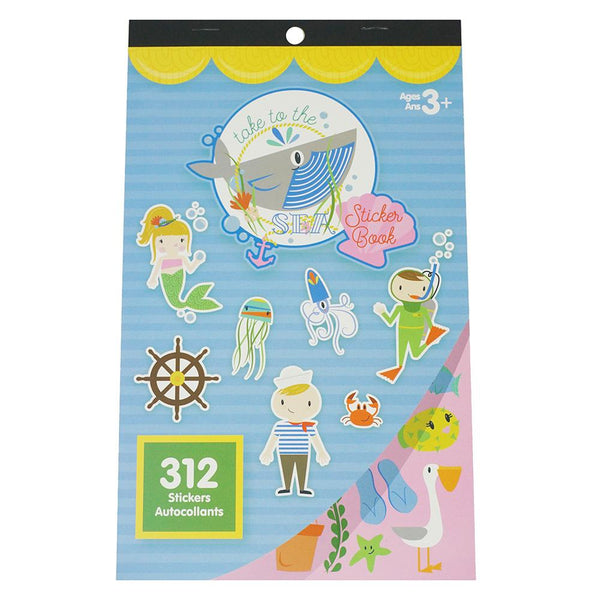 Take To The Sea Craft Sticker Book Assortment, 312-Piece