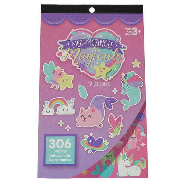 Magical Craft Sticker Book Assortment, 306-Piece