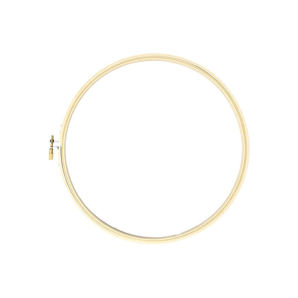 Wooden Craft Embroidery Hoop, Natural, 9-Inch